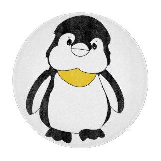 Cute Little Penguin Cutting Board