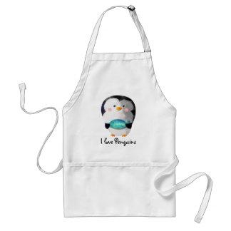Cute Little Penguin Standard Apron