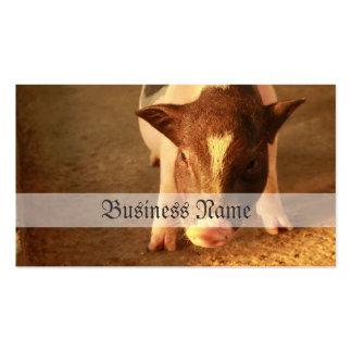 Cute Little Pig Business Card