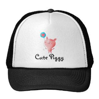 Cute Little Pig Trucker Hat