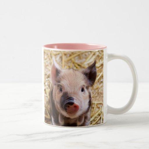 Cute Little Piglet Mug Mug