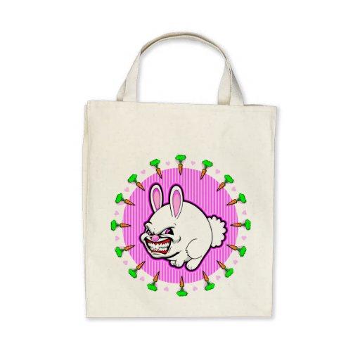 Cute little pink apple bunny bag
