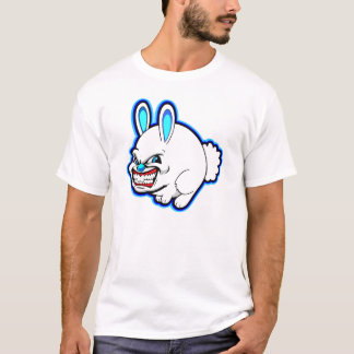 Cute little Pink Apple bunny (in blue) T-Shirt