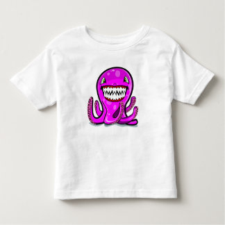 Cute little pink apple octopus for the cute kids toddler T-Shirt