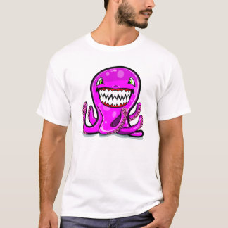 Cute little pink apple octopus T-Shirt