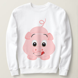 Cute Little Pink Piggy Sweatshirt