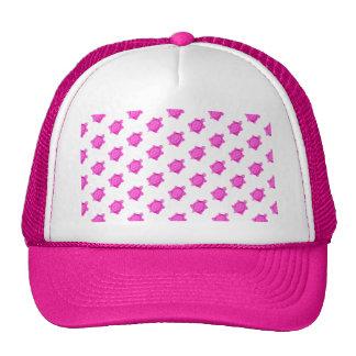 Cute Little Pink Turtle Pattern Cap