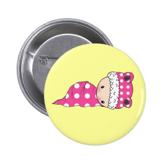 Cute Little Polkadot Baby Button