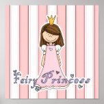 Cute Little Pretty Fairy Princess Print