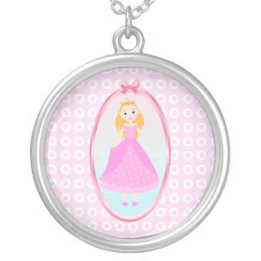 Cute little Princess in pink! Necklace
