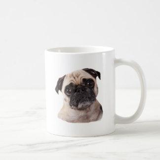cute little pug dog coffee mug