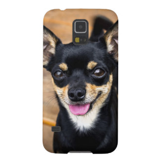 Cute Little Puppy Chiwawa Dog Cases For Galaxy S5