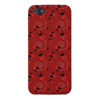 Cute Little Red Ladybugs iPhone 5 Cover