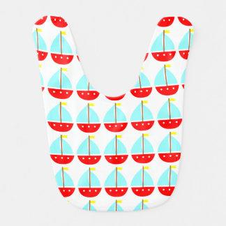 Cute Little Sailboats Bibs