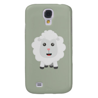 Cute little sheep Z9ny3 Galaxy S4 Cover