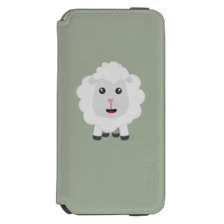 Cute little sheep Z9ny3 Incipio Watson™ iPhone 6 Wallet Case