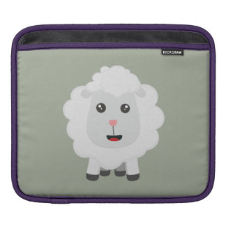 Cute little sheep Z9ny3 iPad Sleeve