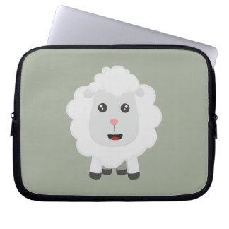 Cute little sheep Z9ny3 Laptop Sleeve
