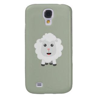 Cute little sheep Z9ny3 Samsung Galaxy S4 Case