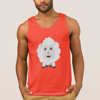 Cute little sheep Z9ny3 Singlet