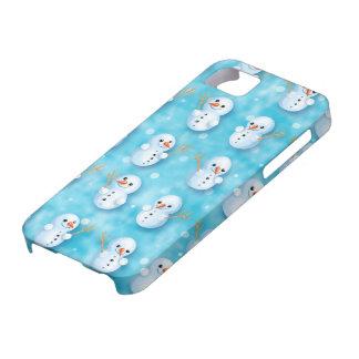 cute little snowmen winter pattern case for the iPhone 5