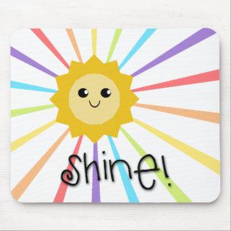 Cute Little Sunshine Shine Mouse Pad