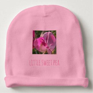 Cute little sweet pea baby's beanie hat baby beanie