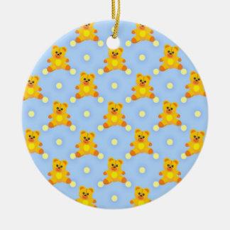 Cute Little Teddy Bears Christmas Ornaments