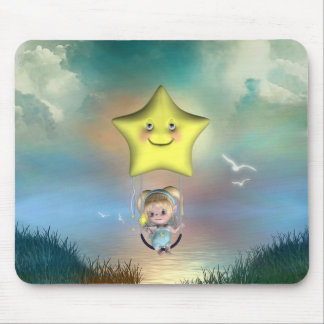 Cute little toon tot baby fairys 1 mouse pads