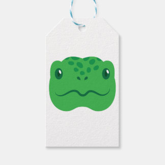 cute little tortoise turtle face gift tags