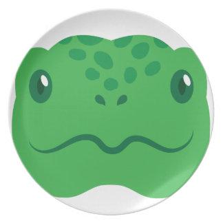 cute little tortoise turtle face plate