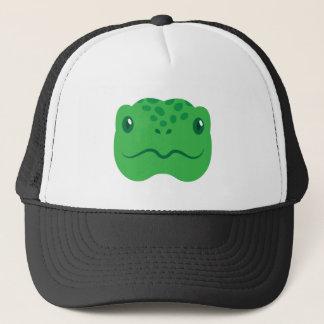 cute little tortoise turtle face trucker hat