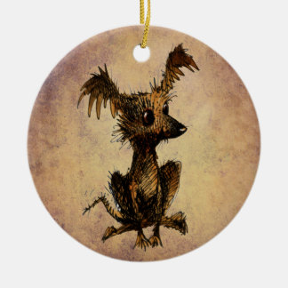 Cute Little Toy Dog Christmas Ornaments