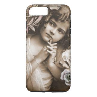 Cute Little Vintage Girl iPhone 8 Plus/7 Plus Case