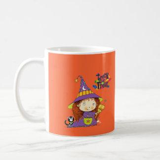 Cute Little Witch Trick or Treat Mug
