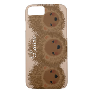 Cute Little Woodland Hedgehogs iPhone 8/7 Case