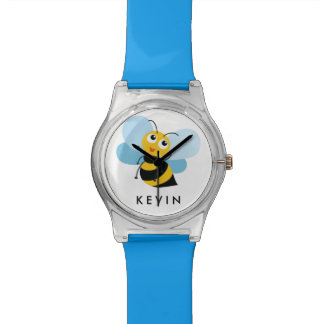Cute Little YELLOW BEE Personalized Watch