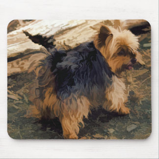 Cute Little Yorkie   - Yorkshire Terrier Dog Mouse Pad