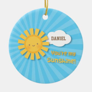 Cute Little You Are my Sunshine Ornament