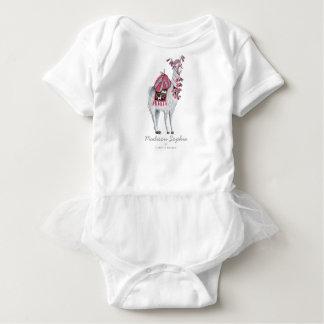 Cute Llama Animal | Baby Girl | Bodysuit