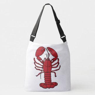 Cute Lobster Nautical beach cross shoulder  Bag