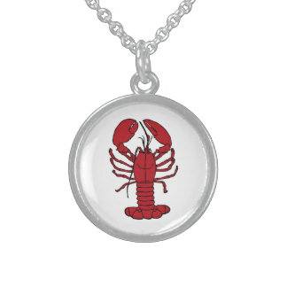 Cute Lobster Nautical beach necklace