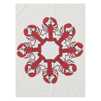Cute Lobster Nautical beach tablecloth