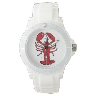 Cute Lobster Nautical beach watch