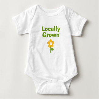 Cute Locally Grown Shirt for Babies and Toddlers