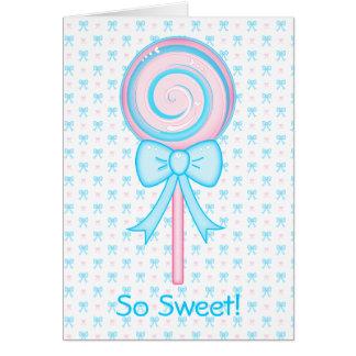 Cute Lollipop Card