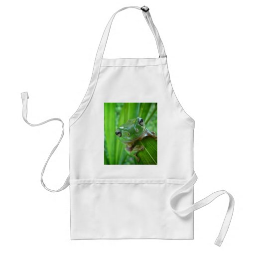 Cute Looking Tree Frog Close Up Aprons