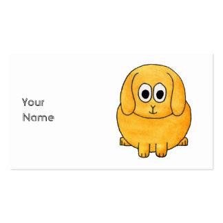 Cute Lop Rabbit. Business Card Templates