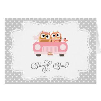 Cute Love Bird Thank You Card