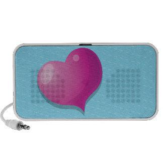 cute love heart speakers